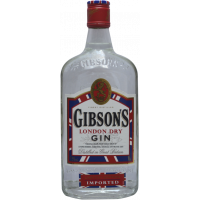 gin gibson's london dry