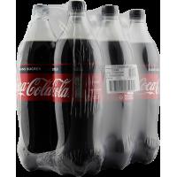 coca cola zero 6x1.25 l