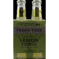 fever tree lemon tonic...
